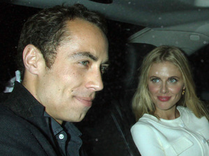 James Middleton, Donna Air, Mr Fogg launch party, London