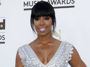 Kelly Rowland, 2013 Billboard Awards Las Vegas, white and silver gown