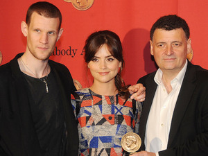 Matt Smith, Jenna-Louise Coleman, Steven Moffat, Doctor Who, 72nd Annual Peabody Awards, New York