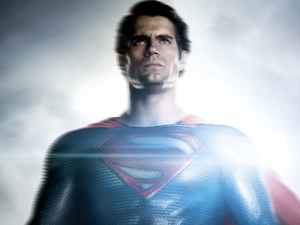 Henry Cavill Man of Steel poster