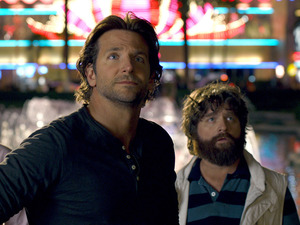 Bradley Cooper, Zach Galifianakis, Ed Helms in The Hangover Part III