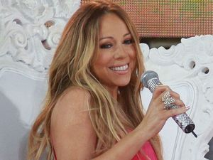 Mariah Carey performs in Central Park