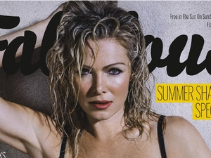 Nell McAndrew on the cover of Fabulous magazine