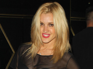 Ashley Roberts enjoys a night out in Los Angeles.