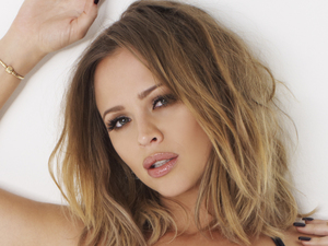 Kimberley Walsh poses for Cosmopolitan Body