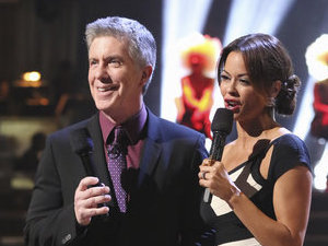 Tom Bergeron hosting 'Dancing With The Stars'