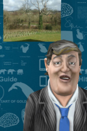A screenshot of Stephen Fry's new iOS app