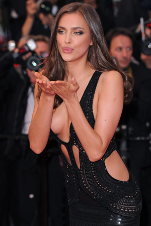 Irina Shayk, model, 'All Is Lost' film premiere at the 66th Cannes Film Festival, daring dress