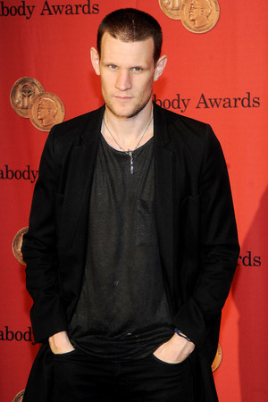 Matt Smith, 72nd Annual Peabody Awards, New York, shaved head, Doctor Who
