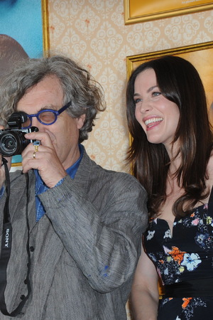 Wim Wenders and Liv Tyler for Magnum