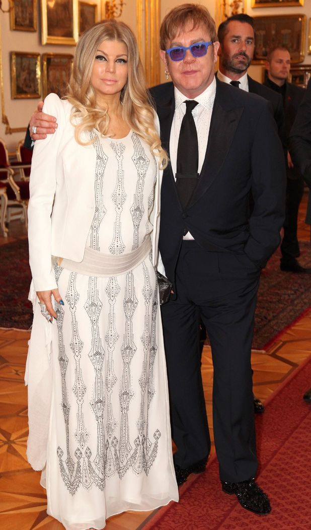 Fergie and Elton John