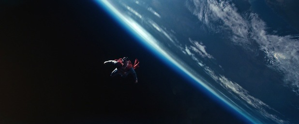 Henry Cavill Superman space