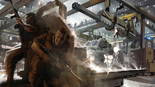 'Call of Duty: Ghosts' concept art
