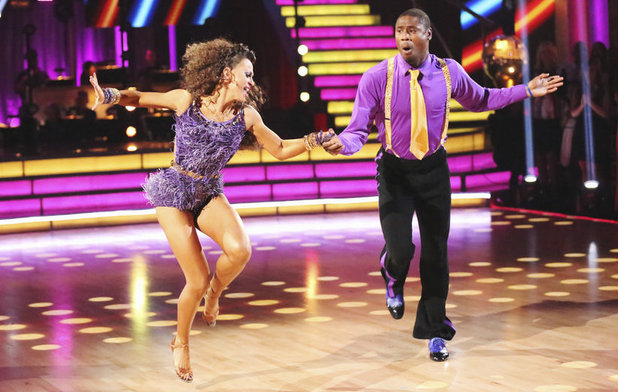 Dancing With The Stars Finale (Week 10): Jacoby Jones & Karina Smirnoff