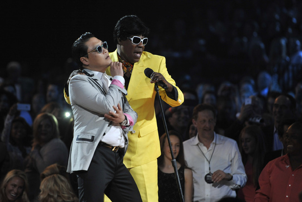 Psy with Tracy Morgan
