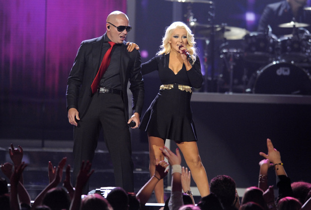 Billboard Music Awards 2013: Pitbull and Christina Aguilera