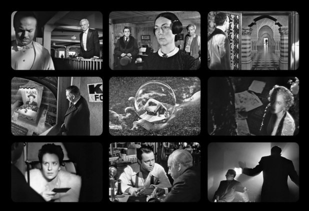 9 Film Frames: Citizen kane