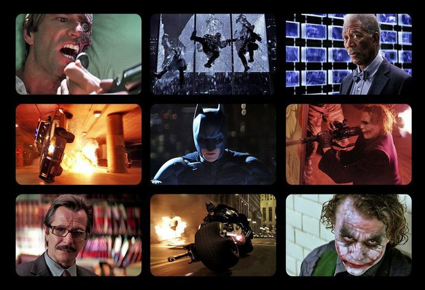 9 Film Frames: The Dark Knight