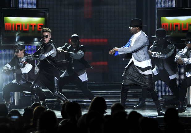 Billboard Music Awards 2013: Justin Bieber and will.i.am