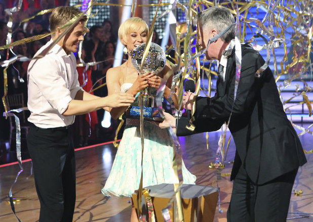 Dancing with the Stars - 2013 finale: Derek Hough & Kellie Pickler win