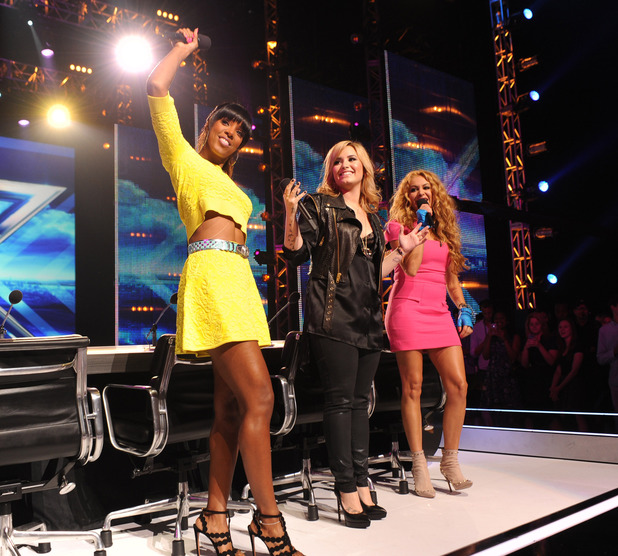 'X Factor' USA season 3 judges: Paulina Rubio, Demi Lovato, Kelly Rowland,