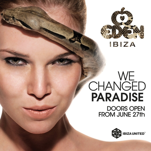 Eden club in Ibiza relaunches