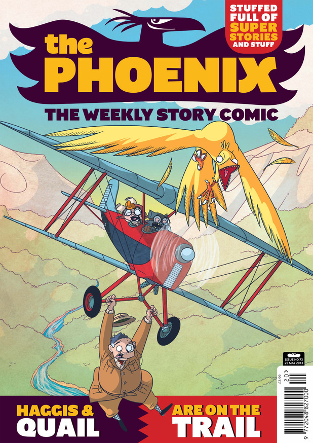 'The Phoenix' Issue 73 cover
