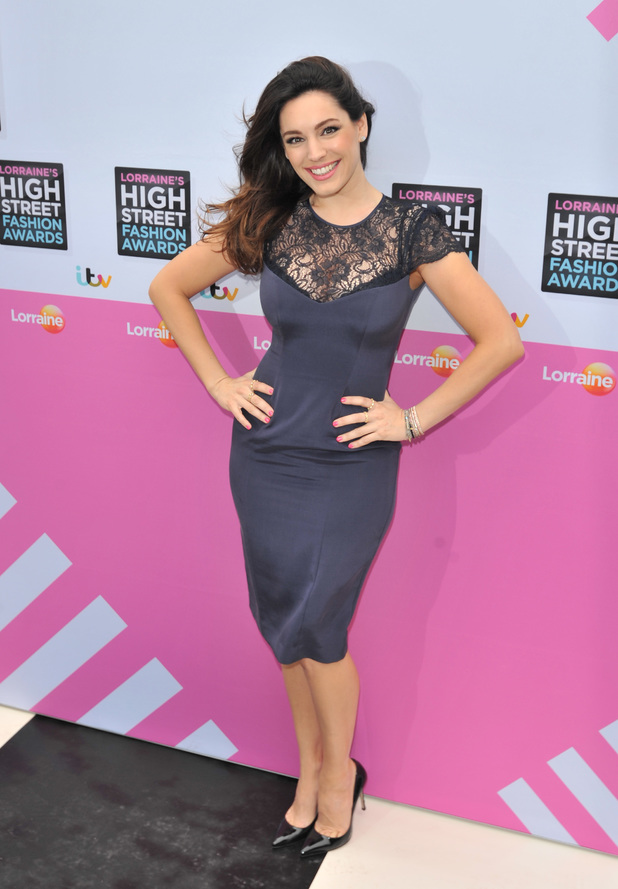Kelly Brook, Lorraine's High Street Fashion Awards