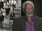 Morgan Freeman falls asleep in interview
