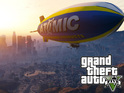 The 'Grand Theft Auto Five' pre-order blimp