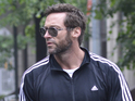 Hugh Jackman, scooter, New York, tracksuit