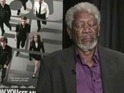 Actor takes an on-air rest while he and Michael Caine promote Now You See Me.