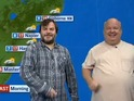 Jack Black, Kyle Gass do the weather in New Zealand