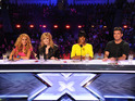 Female judges force Simon Cowell to dance in new preview.