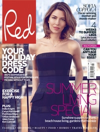 Sofia Coppola photo shoot for Red magazine