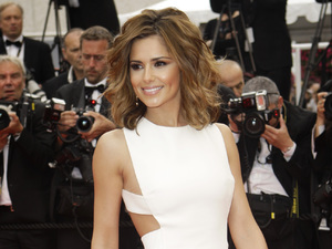 Cheryl Cole, 2012 Cannes Film Festival, Versace, cut-out dress
