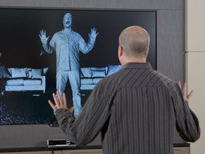 The next-generation Xbox Kinect in action