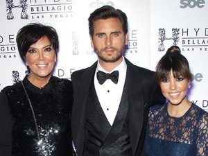 Kris Jenner, Scott Disick, Kourtney Kardashian, 30th birthday, reality TV stars