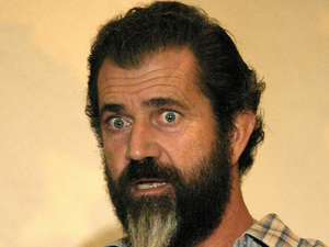 Mel Gibson, facial hair, beard, moustache, Apocalypto, press conference
