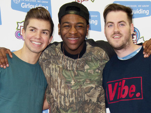 The Lovable Rogues attend the Girl Guiding Big Gig at the LG Arena in Birmingham.