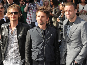 Muse at the World War Z premiere.