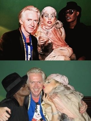 Lady Gaga, Philip Treacy, & Grace Jones
