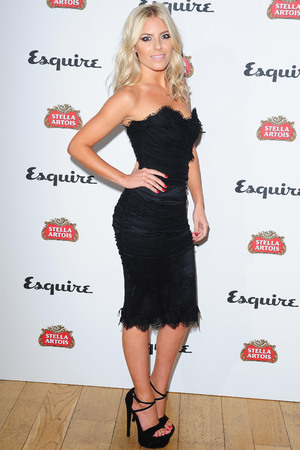 Mollie King arriving at the Esquire and Stella Artois party, to launch the Esquire Your Life supplement at Somerset House, London