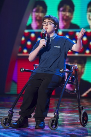 Jack Carroll on the 'Britain's Got Talent' Semi Final Show 2 TV Programme - 28 May 2013