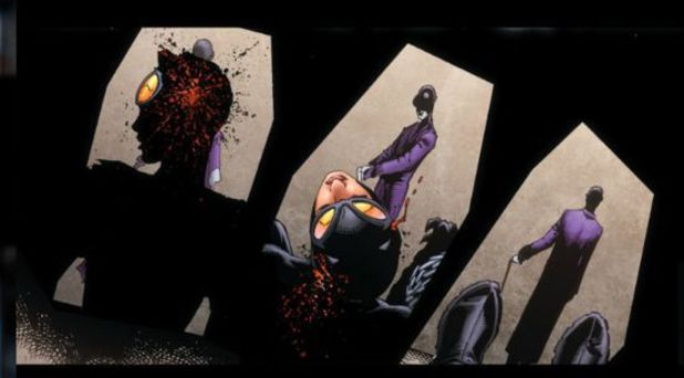 Catwoman is shot and killed in 'Justice League of America' #4