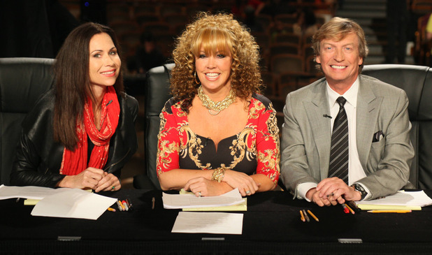 Minnie Driver joins Nigel Lythgoe and Mary Murphy on 'So You Think You Can Dance' in Austin, TX