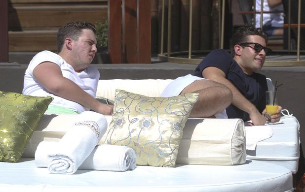 James Bennewith (Diags) and James Argent
