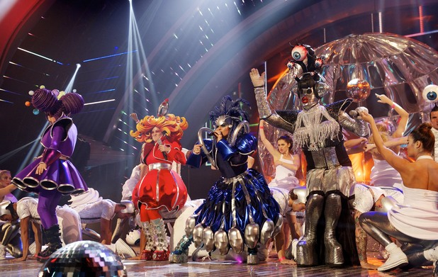 Club Town Freaks perform on the 4th semi-final of Britain's Got Talent