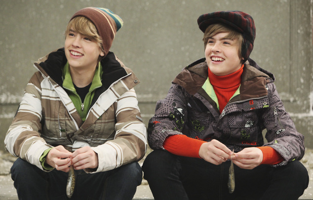 Cole Sprouse and Dylan Sprouse in 'The Suite Life On Deck' Disney Channel series