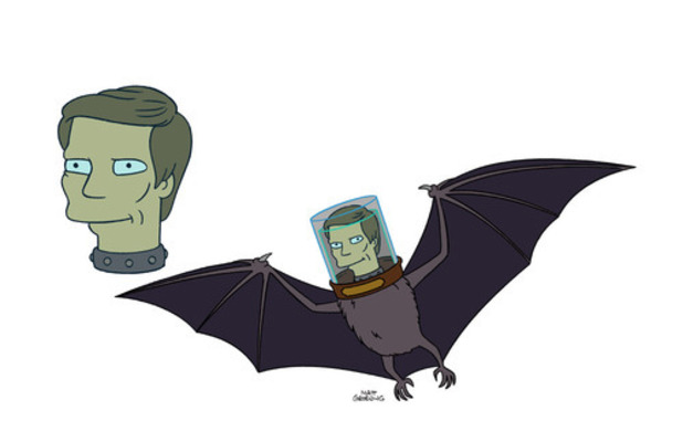 Futurama Batman Adam West